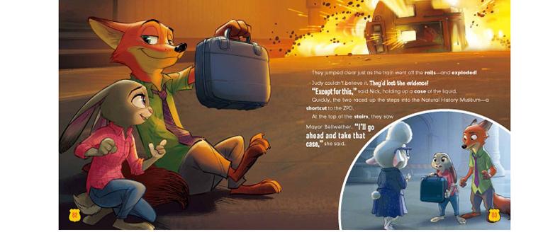疯狂动物城(迪士尼英语家庭版)/不能错过的迪士尼双语