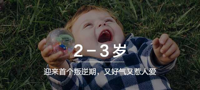 2-3岁:迎来首个叛逆期,又好气又惹人爱