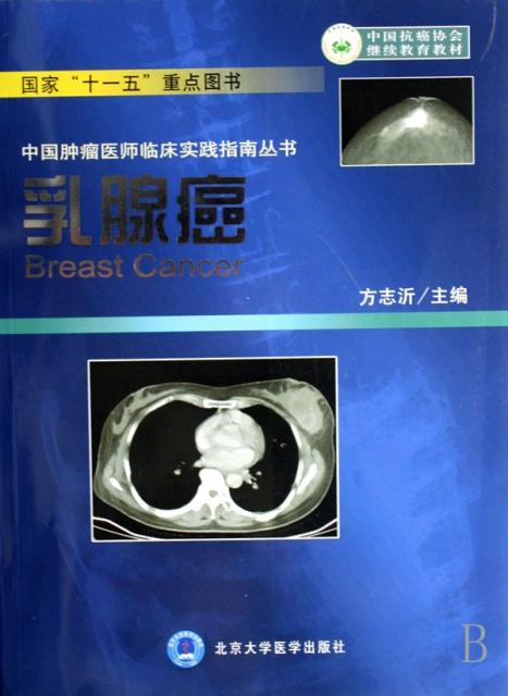 乳腺癌/中國腫瘤醫師臨床實踐指南叢書