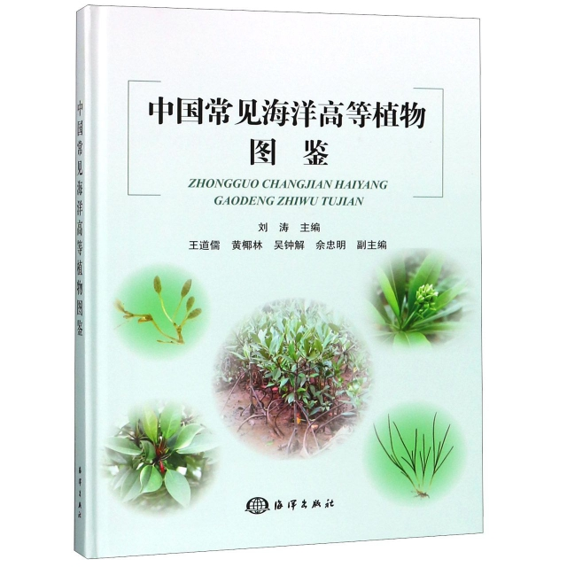 中國常見海洋高等植物圖鋻(精)