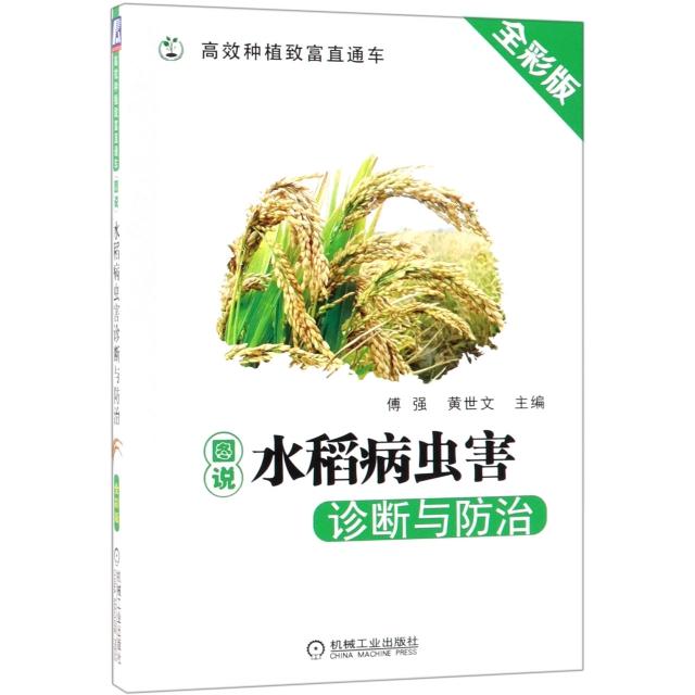 圖說水稻病蟲害診斷與防治(全彩版)/高效種植致富直通車