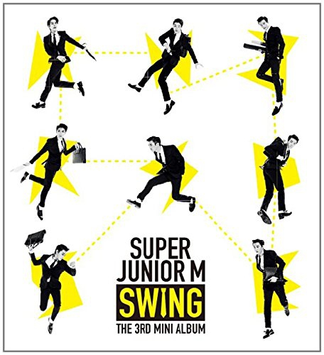 CD SUPER JUNIOR M SWING嘶吼