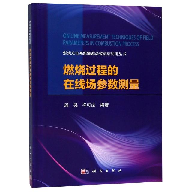 燃燒過程的在線場參數測量(精)/燃燒發電繫統能源高效清潔利用叢書