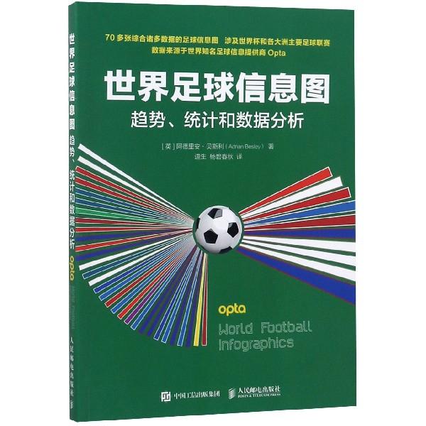 世界足球信息圖(趨勢統計和數據分析)