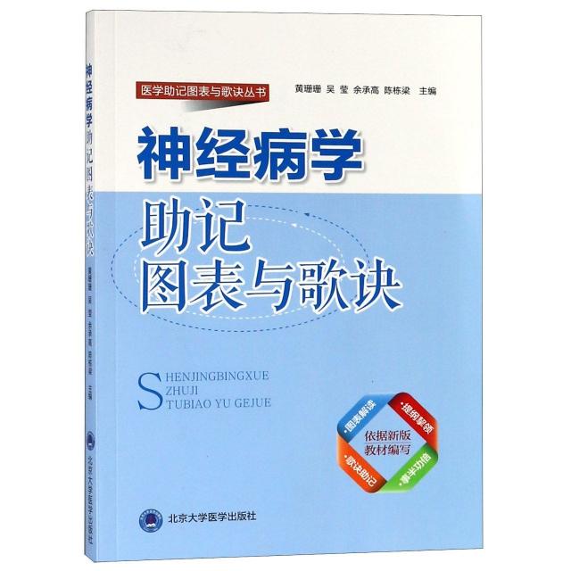 神經病學助記圖表與歌訣/醫學助記圖表與歌訣叢書