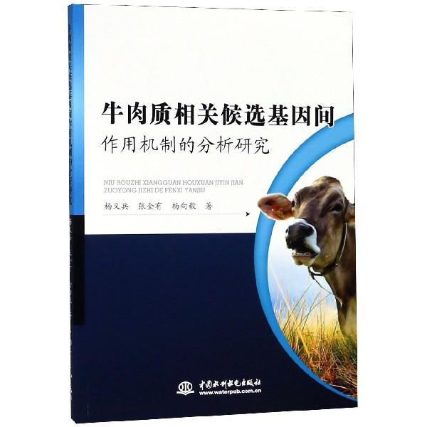 牛肉質相關候選基因間作用機制的分析研究