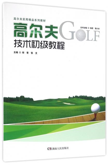 高爾夫技術初級教程(高爾夫實用精品繫列教材)