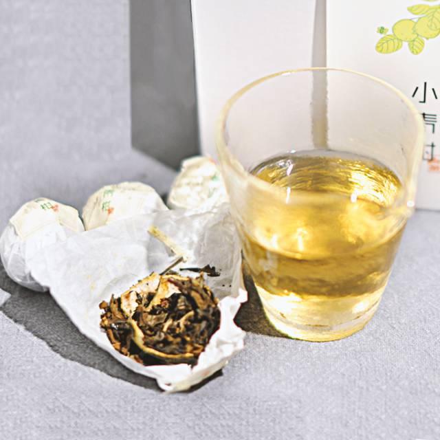 福鼎本佳白茶小青柑 FD0009 白茶