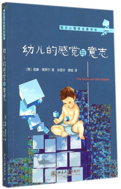 幼兒的感覺與意志/西方心理學名著譯叢