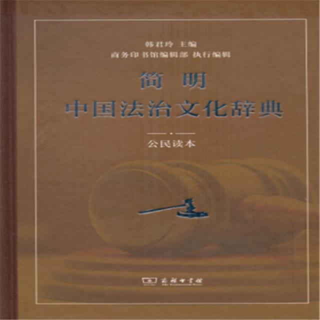 簡明中國法治文化辭典(公民讀本)(精)