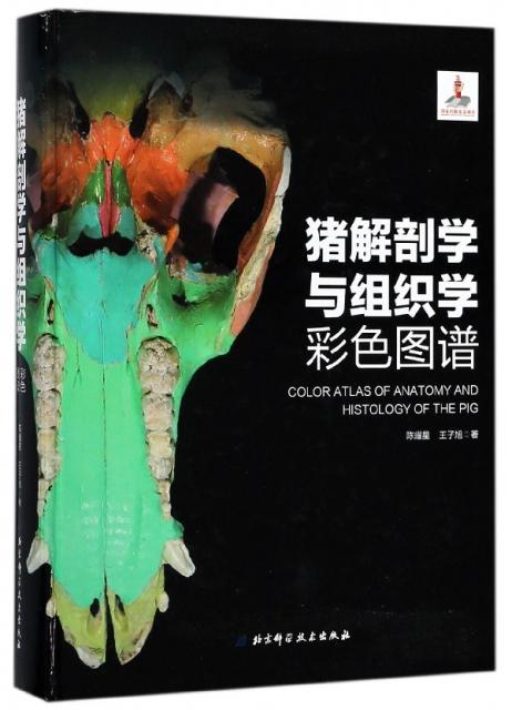 豬解剖學與組織學彩色