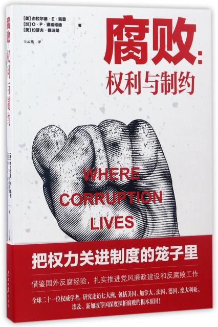腐敗--權利與制約